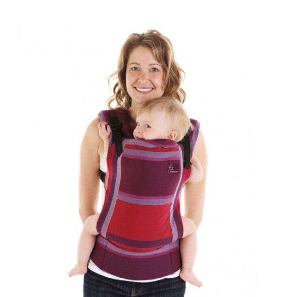 加拿大 Chimparoo - Trek 嬰兒背帶-茱麗葉紅