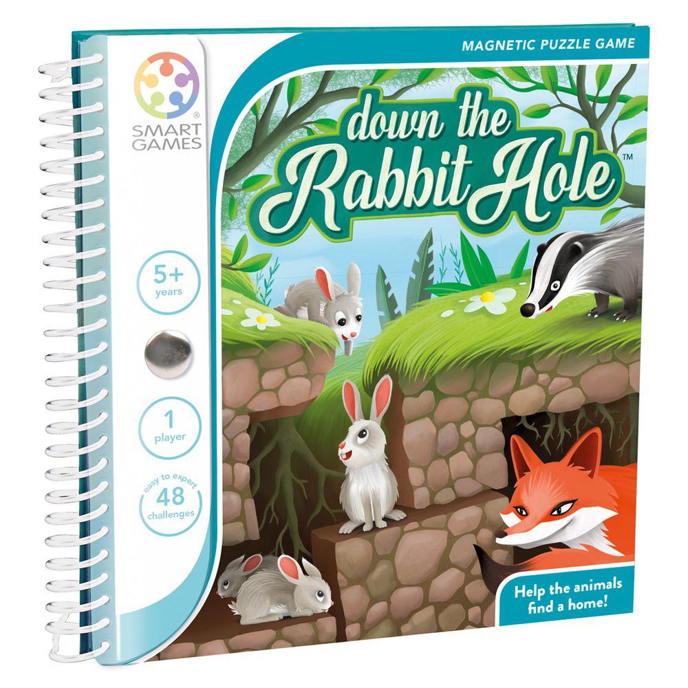 上誼文化 - 【比利時SMART GAMES】魔磁隨身系列-躲躲小兔-5歲以上