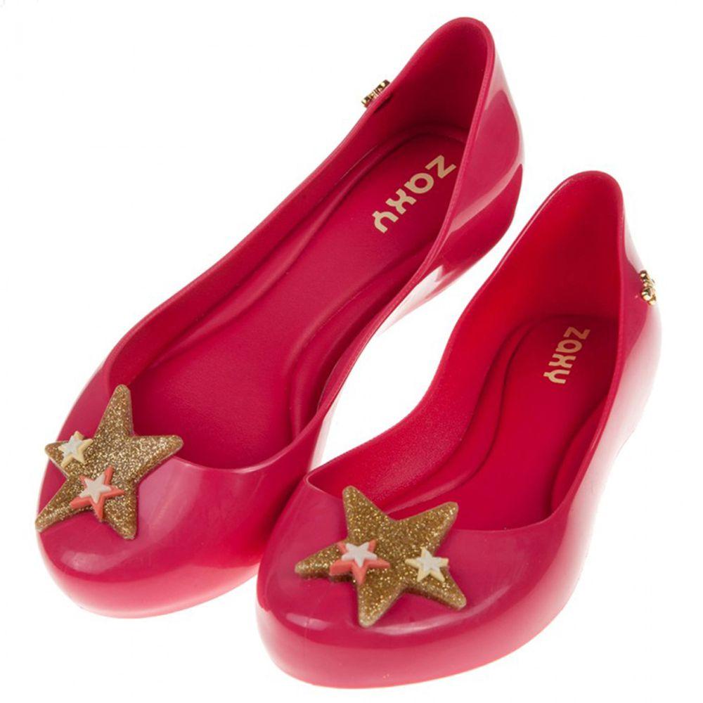 ZAXY - 夢幻閃亮星星粉色兒童香香鞋
