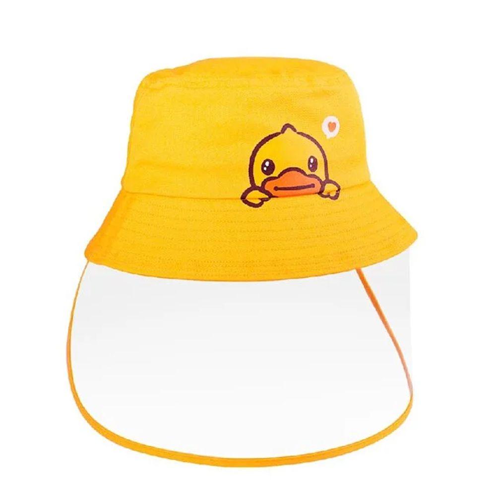 Hong Man - B.Duck親子防疫帽-幼童款-黃 (約51CM(頭圍尺寸))