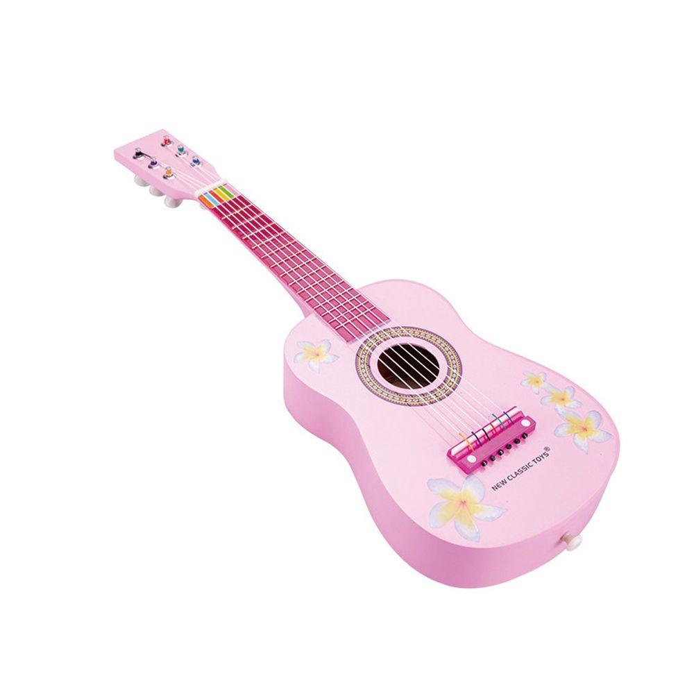 荷蘭 New Classic Toys - 【新品】幼兒音樂吉他-甜心粉
