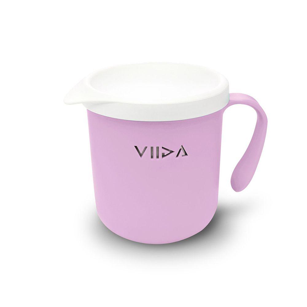 VIIDA - Soufflé抗菌不鏽鋼兒童餐杯-杯子-薰衣草紫