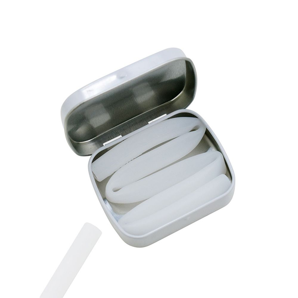 美國GoSili - 矽膠吸管隨行27cm-Frost-附鐵盒-冰霜白
