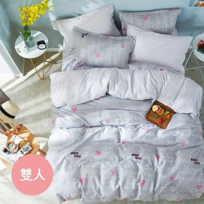 極致純棉寢具組-暖暖-雙人三件式床包組