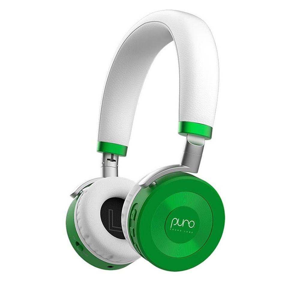 PURO SOUND LAB - JuniorJams 無線兒童耳機-附麥克風-綠色 (20.5 x 14.5 x 5 cm)