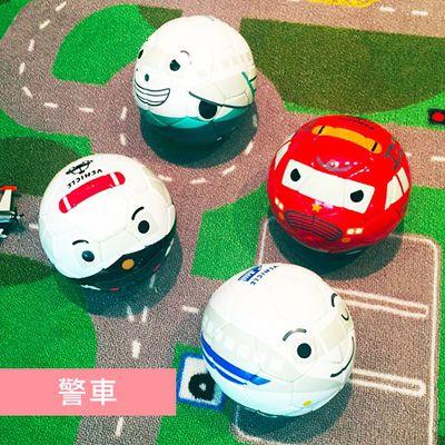 日本專業兒童足球-警車(媽咪愛獨家限定優惠)