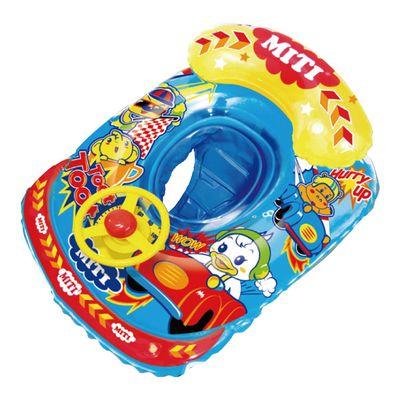 Miti汽車造型游泳圈-藍