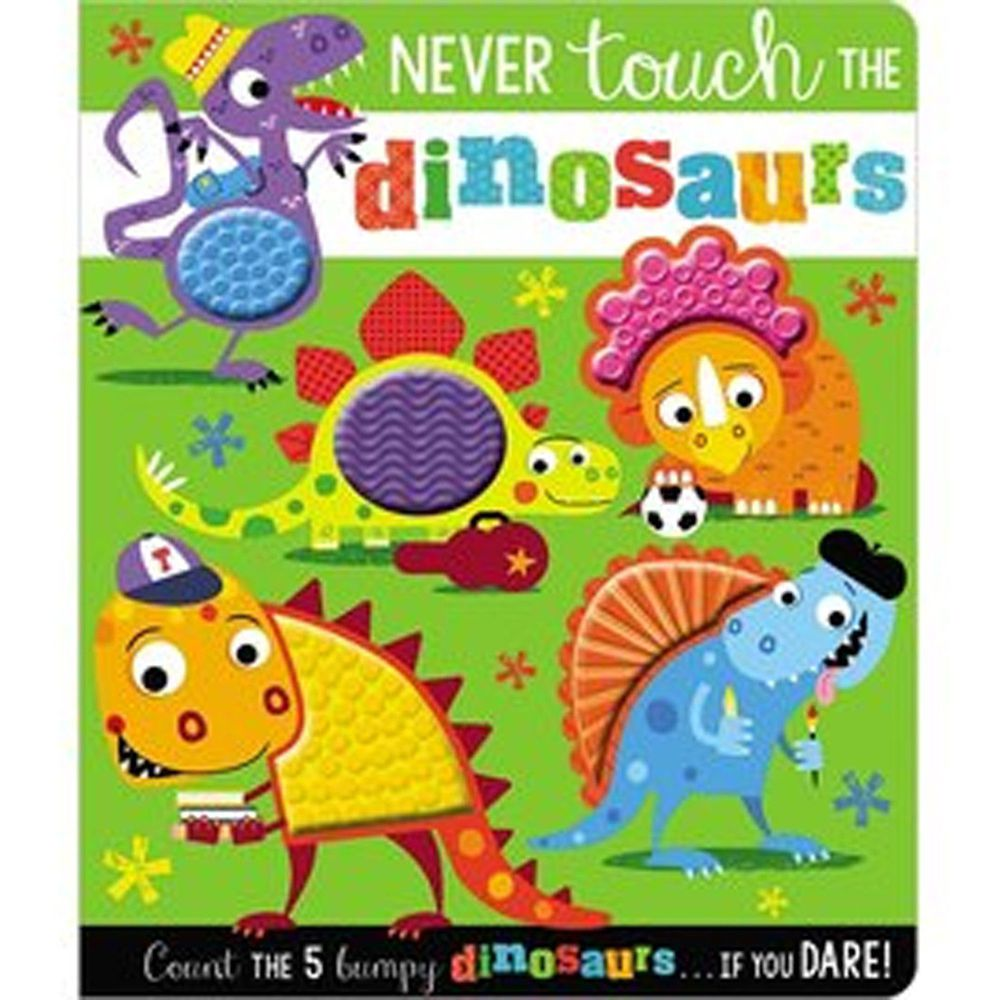 Never Touch the Dinosaurs 千萬別碰好多恐龍