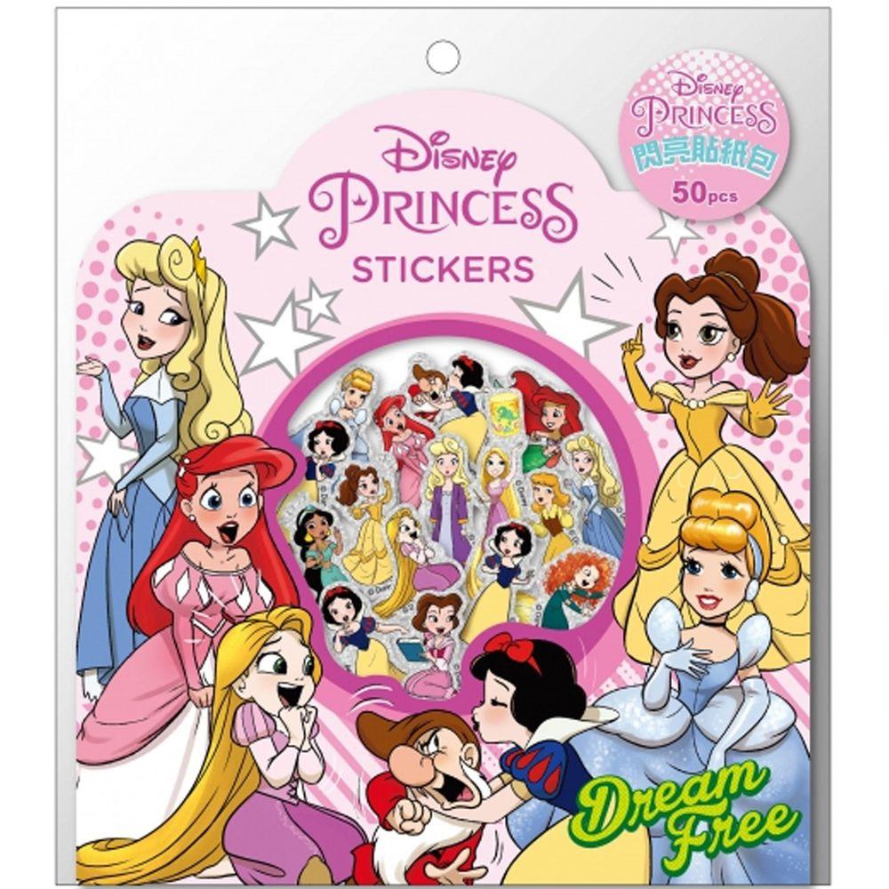 閃亮貼紙包-迪士尼公主