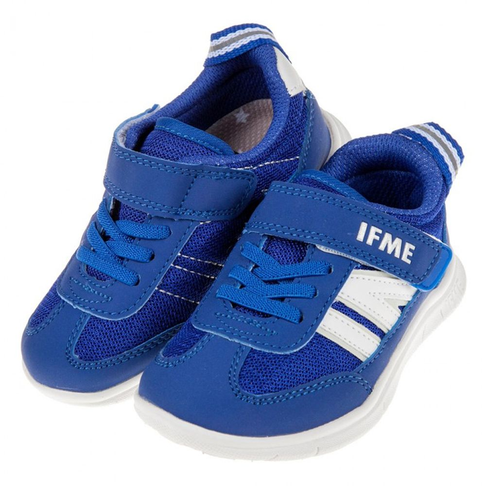 日本IFME - 日本IFME百搭純藍超輕量兒童機能鞋
