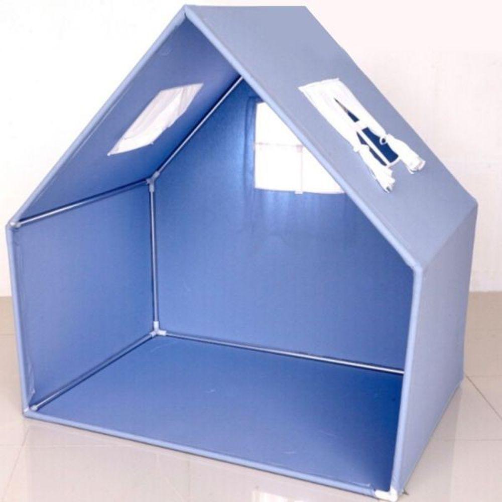 韓國 Foldaway - PLAY HOUSE - (加寬球池帳篷組)-Blue藍色 (4cm加寬圍欄專用)