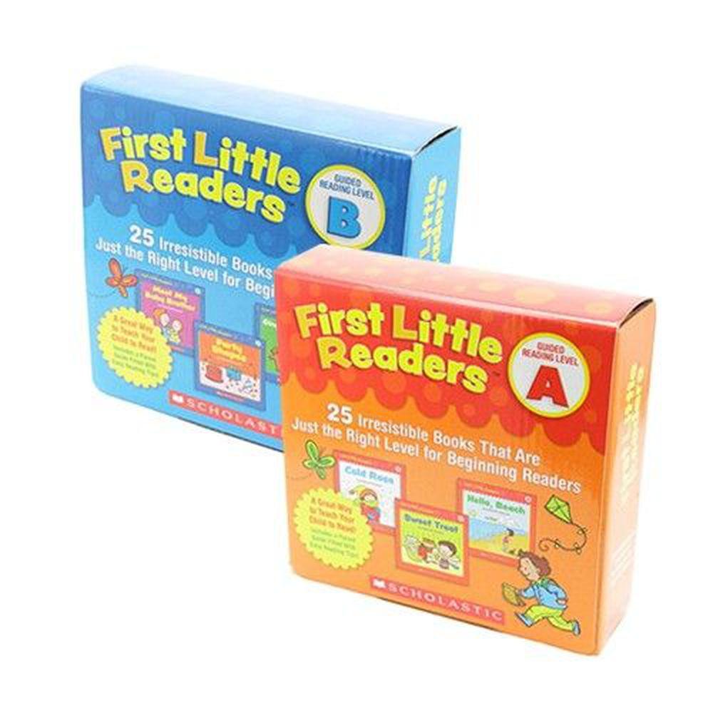 Scholastic - 【超值合購】我的第一套小小閱讀文庫First Little Readers Level A+B-二盒
