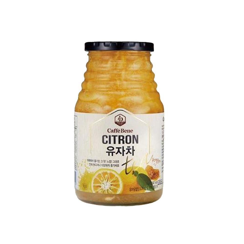 韓國Caffebene咖啡伴 - 蜂蜜柚子茶(1kg/罐)