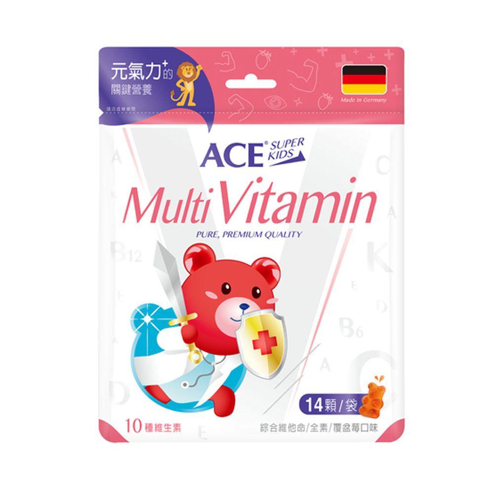 ACE - ACE SUPER KIDS 機能Q 綜合維他命 14顆/袋-39.2公克/袋