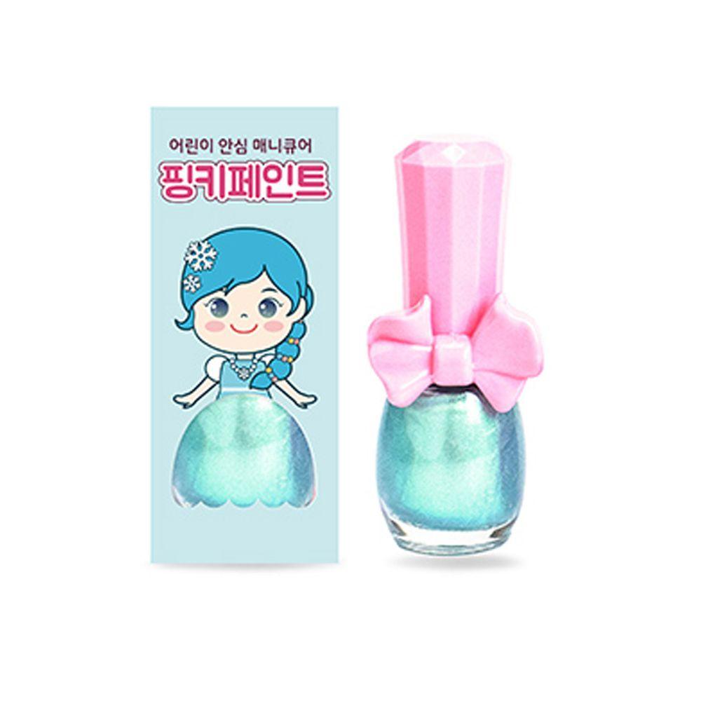 韓國 Pink Princess - 可撕式無毒指甲油-冰雪仙境(亮粉色系)