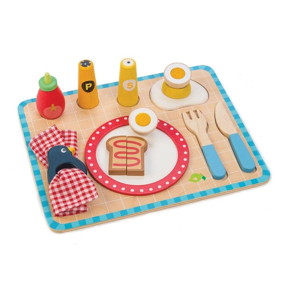 美國 Tender Leaf Toys - 我的營養早餐盤