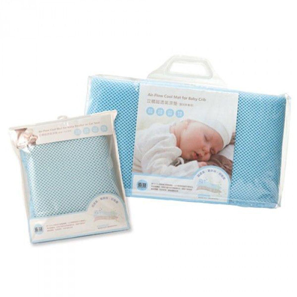 奇哥 - 立體超透氣涼墊-推車/汽座+嬰兒床墊超值優惠組
