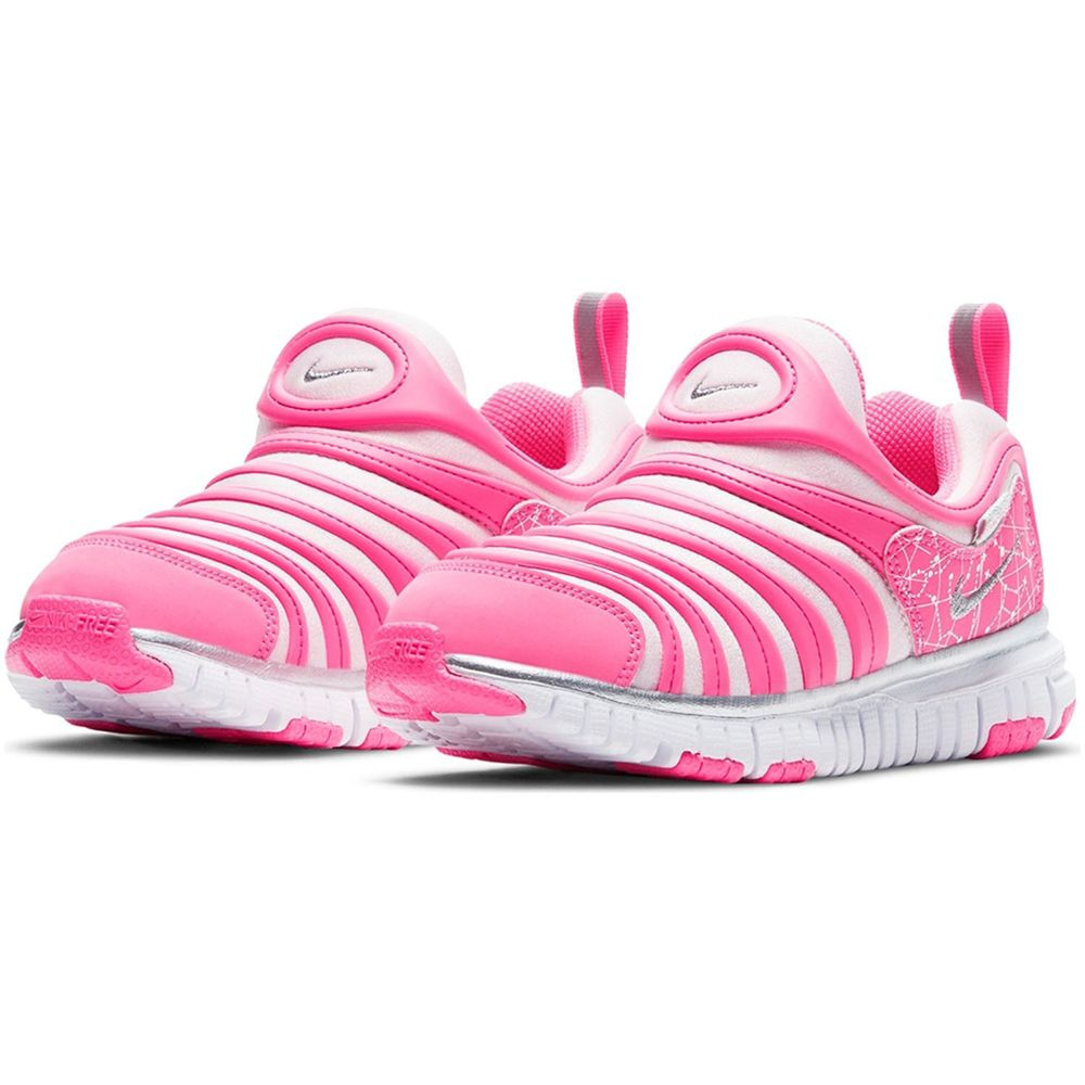 NIKE 耐吉 - DYNAMO FREE (PS) 小童 毛毛蟲 休閒鞋-DC3272606