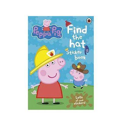 貼紙書-帽子在哪裡