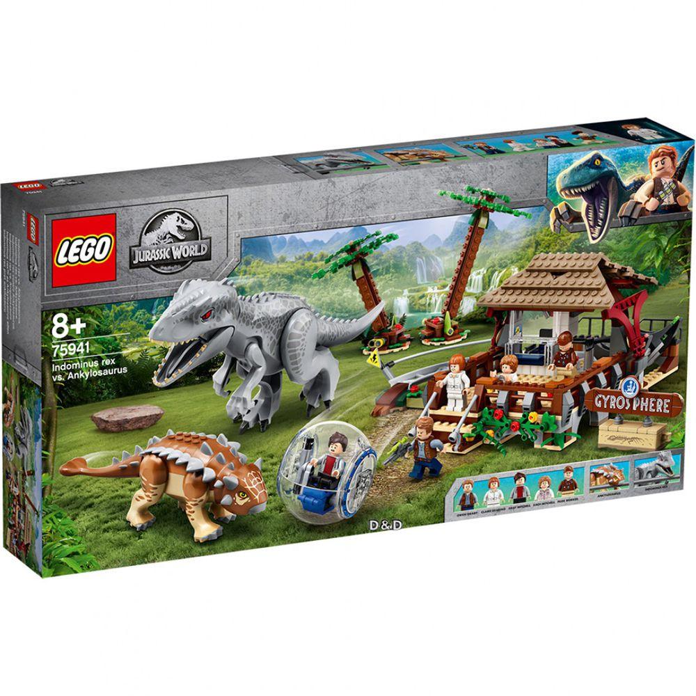 樂高 LEGO - 樂高積木 LEGO《 LT75941 》Jurassic World 侏儸紀世界系列 - Indominus Rex vs. Ankylosaurus-537pcs