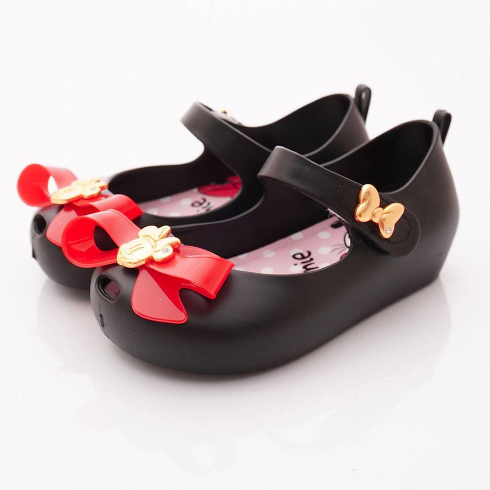 迪士尼 - 卡通童鞋-米妮金賞娃娃鞋(中小童段)-黑