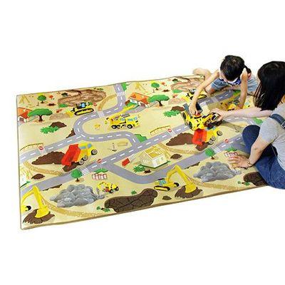 兒童安全遊戲地墊-大-交通工程車 (200 x 120cm)
