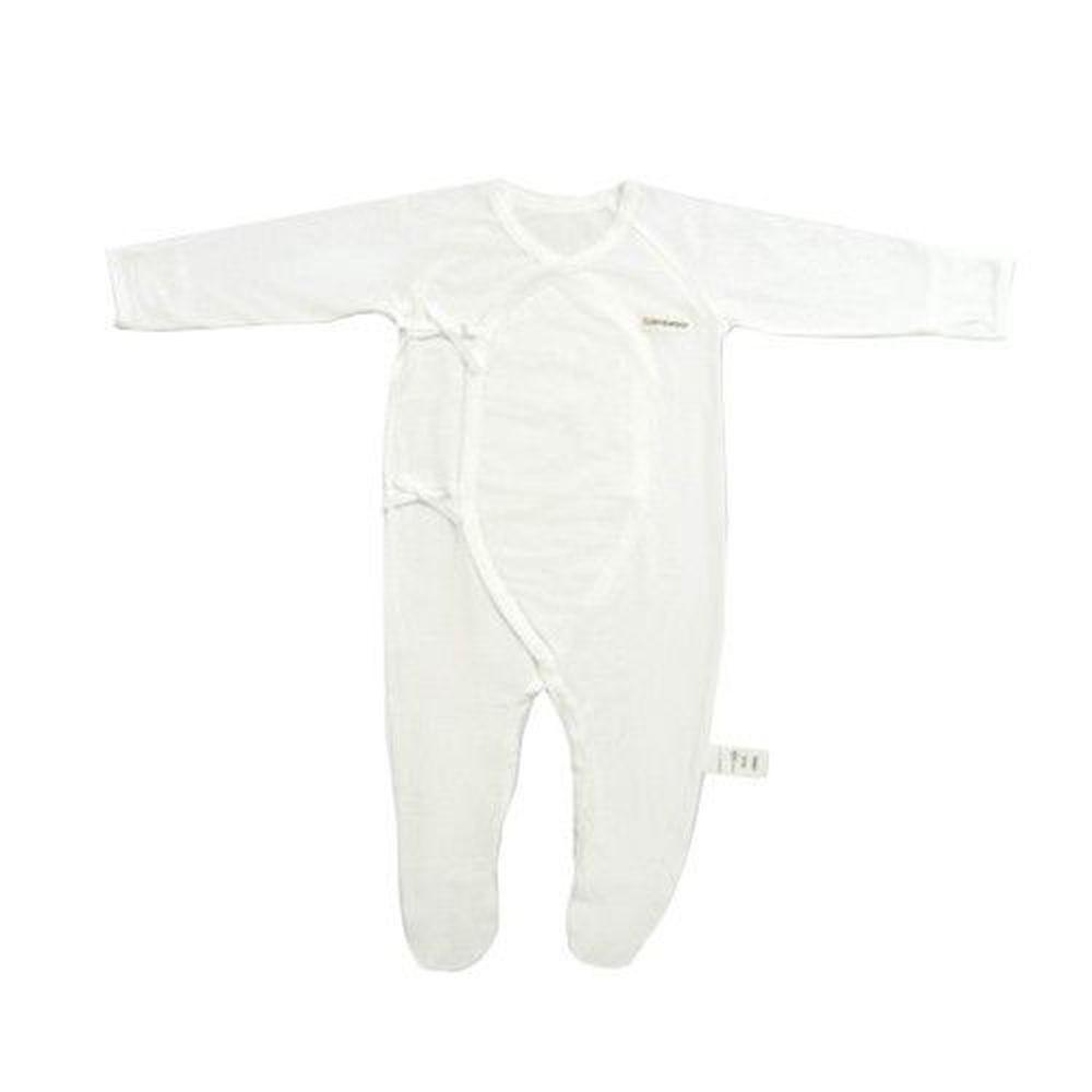 Edenswear 伊登詩 - 鋅健康抗敏系列-嬰兒包手腳兔裝-米白