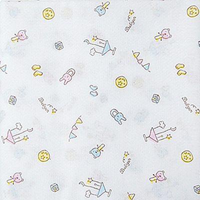 100%純棉澡巾(5入)-寶寶異想世界 (90x90cm)