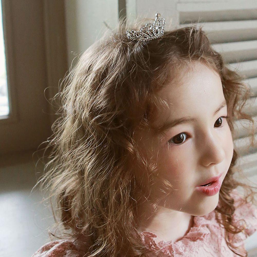 韓國 PuellaFLO - 女王水晶皇冠髮飾