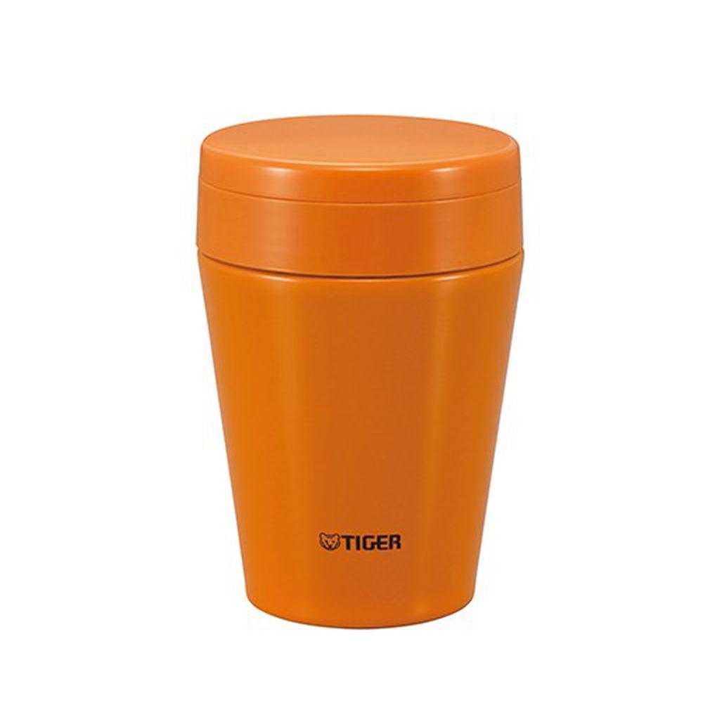 TIGER 虎牌 - 380cc不鏽鋼真空食物罐-附折疊式叉子 / 湯匙-胡蘿菠橘