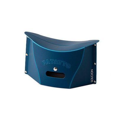 一公分超薄折疊椅-海軍藍 (S)