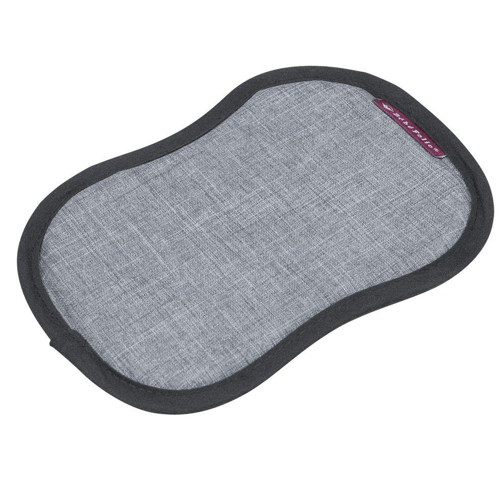 法國 Bebefolie - 冰心沁涼墊-揹巾專用-灰色 (長*21 寬*16 公分)