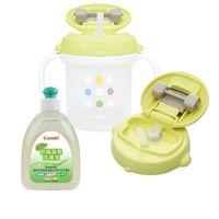 新奶瓶蔬果洗潔液300ml+喝水訓練杯(款式隨機)+吸管上蓋-贈品 X 1