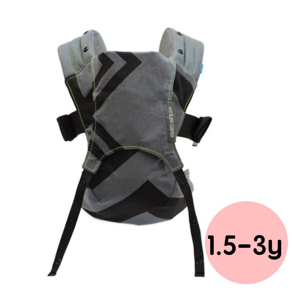 英國 WMM - Venture+ 輕旅揹帶 - 大寶寶版-幾何碳灰