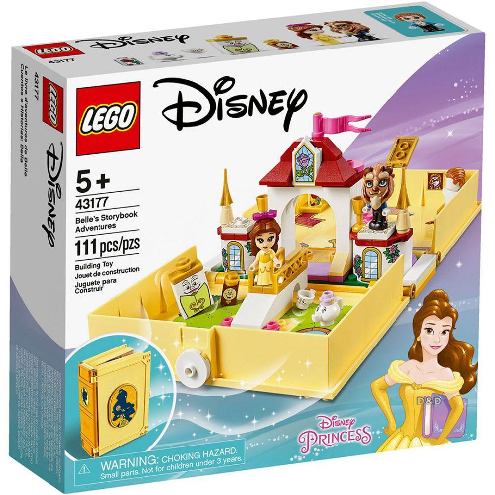 樂高 LEGO - 樂高 Disney 迪士尼公主系列 -  貝兒的口袋故事書 43177-111pcs