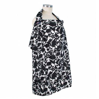 美國 Bébé au Lait - 時尚哺乳巾-Sakura [優質純棉款]