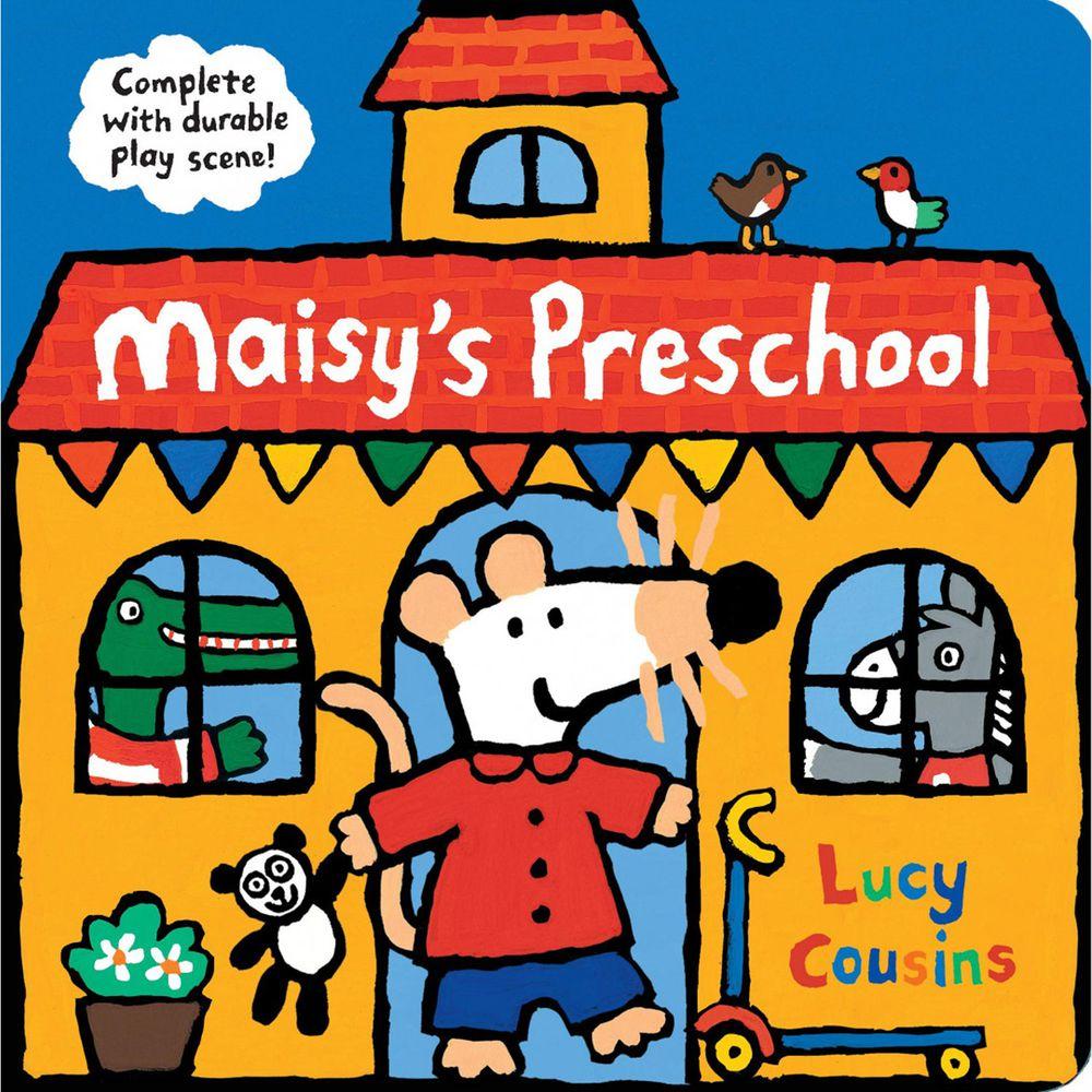 Maisy's Preschool 硬頁立體書屋