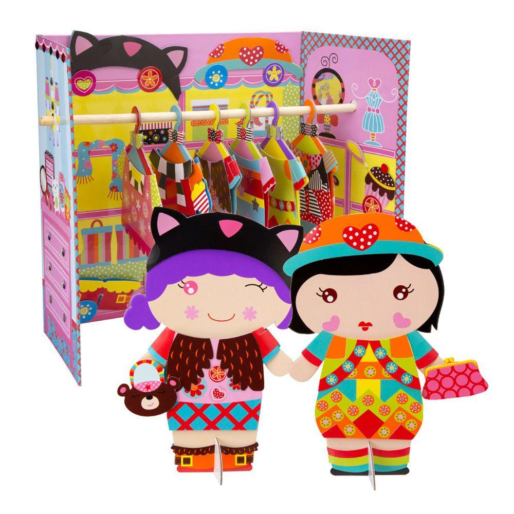 美國 ALEX - 娃娃家衣櫥