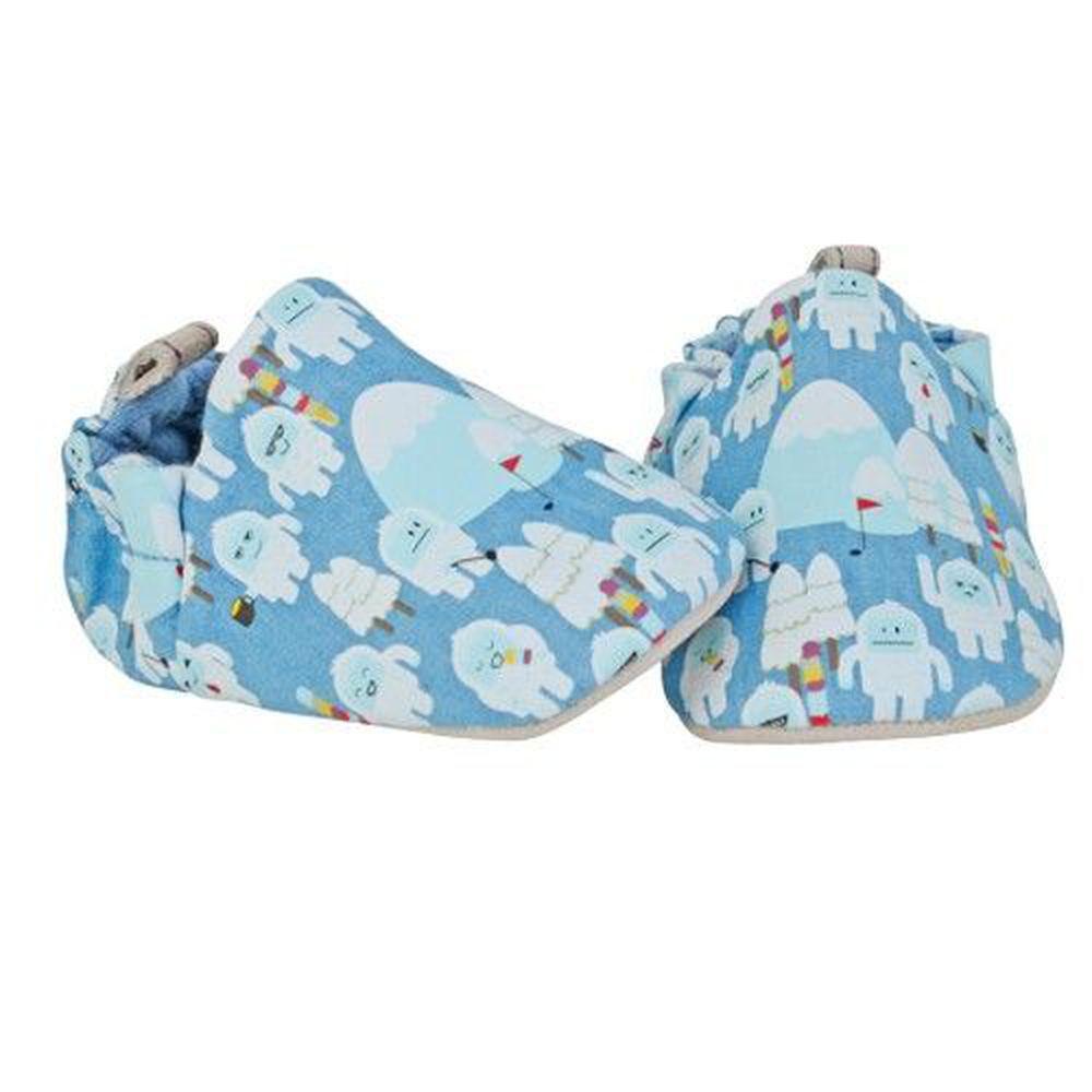 英國 Poconido - 寶寶手工鞋/學步鞋-小雪人