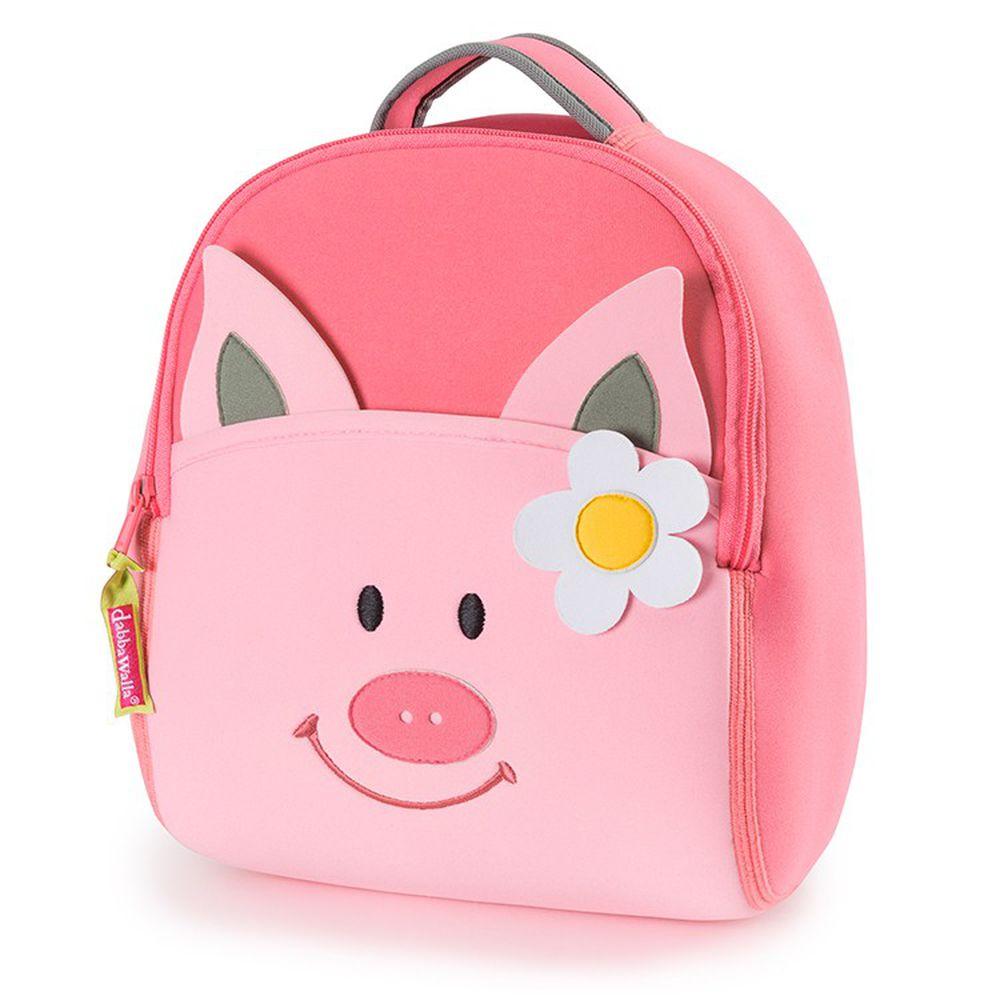 美國 Dabbawalla - 瓦拉包-粉紅豬後背包