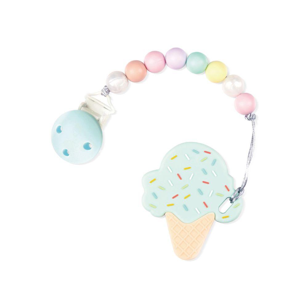 Sweet Little monster - 怪獸寶貝系列 - 固齒器-棉花糖冰淇淋-薄荷