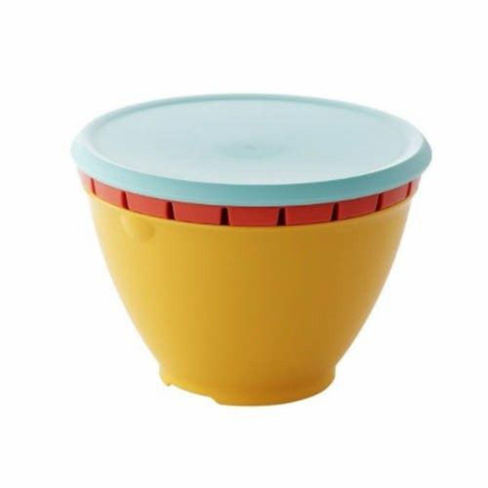 日本 LIBERALISTA - 多用途 可微波 耐熱瀝水籃組-熱情系 (小)
