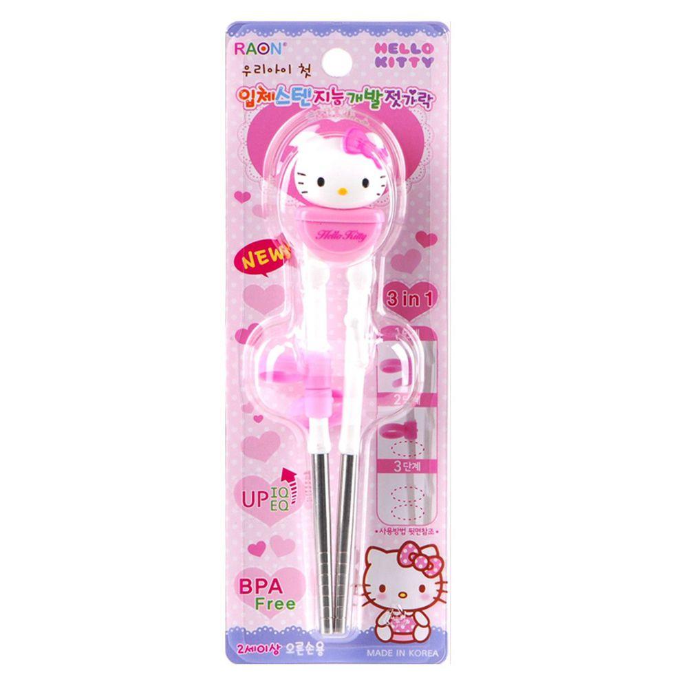 RAON - Hello Kitty 3D 不銹鋼筷-右手
