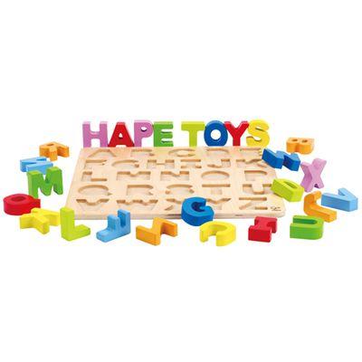 ABC大寫立體木拼圖
