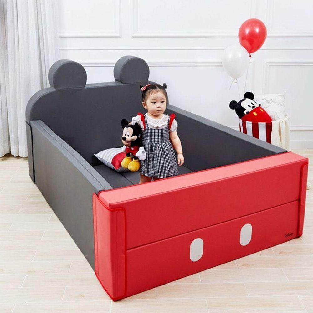 Alzipmat - 迪士尼 輕傢俬系列 多功能圍欄地墊/沙發床-米奇