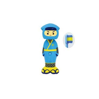 Bounce up 彈跳牙刷特別款-忍者-藍-一入