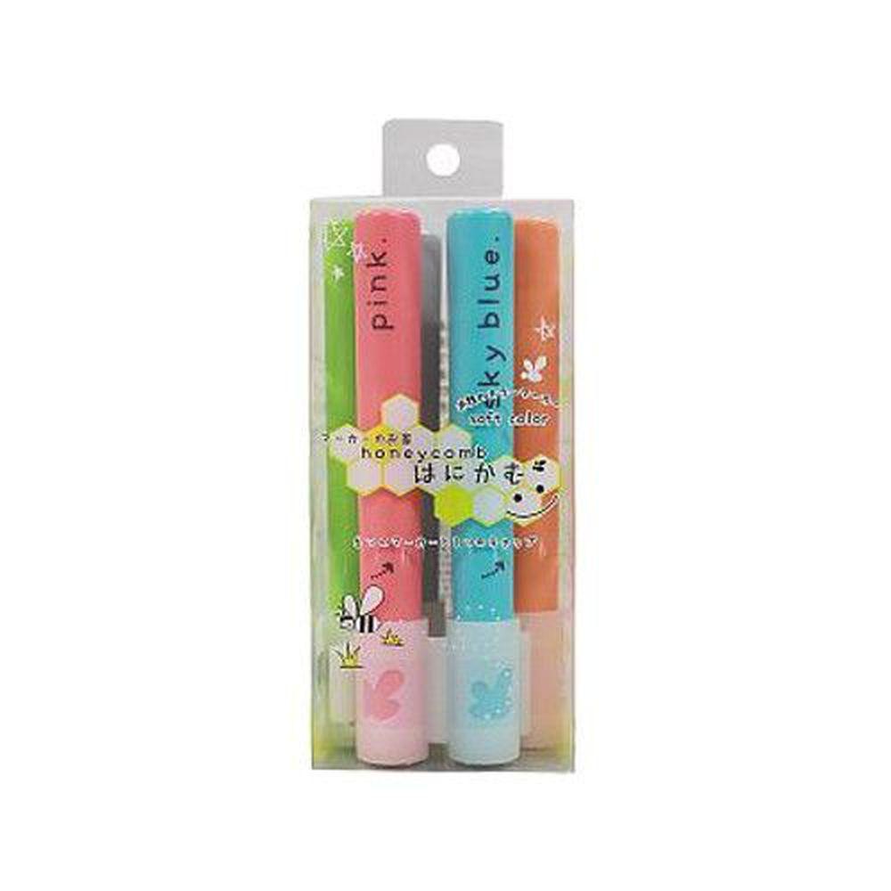 KOBARU - 哈尼不掉蓋彩色筆 幼童專用-粉嫩色