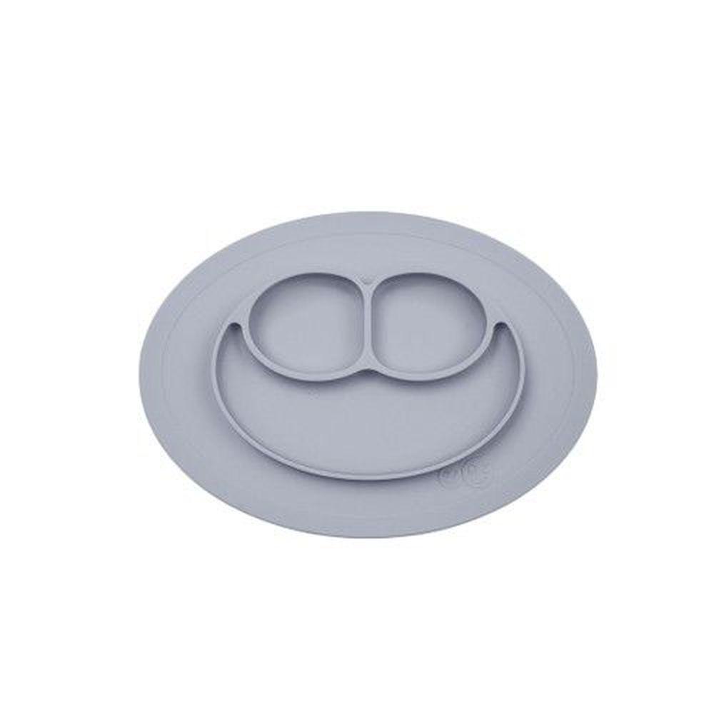 美國 ezpz - 快樂餐盤 Happy Mini Mat-迷你餐盤-星塵灰 (27.3cm*19.7cm*2.54)-240ml