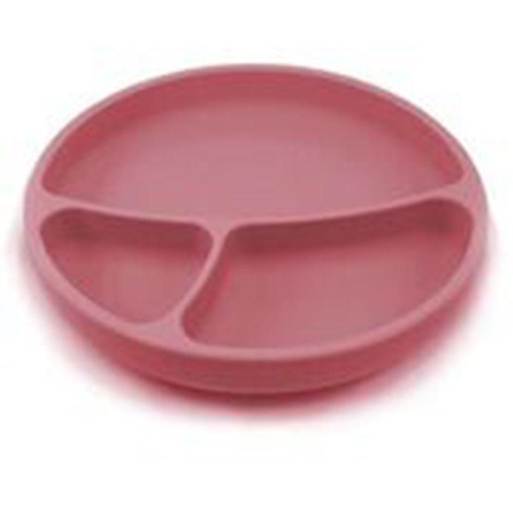 土耳其 minikoioi - 防滑矽膠餐盤-石榴紅