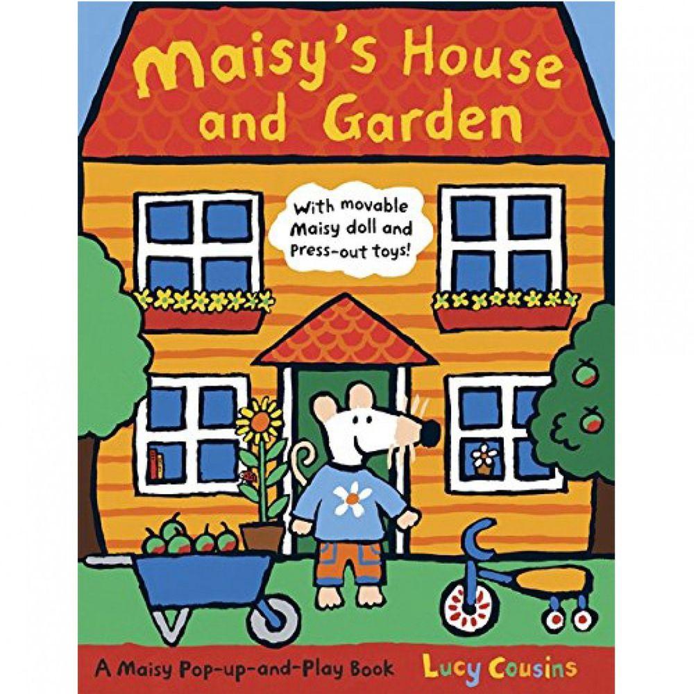 Maisy's House and Garden 小鼠波波花園立體娃娃屋